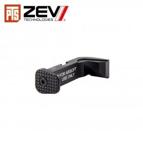 ZEV G17 Mag Release Button Kit - Black & Silver