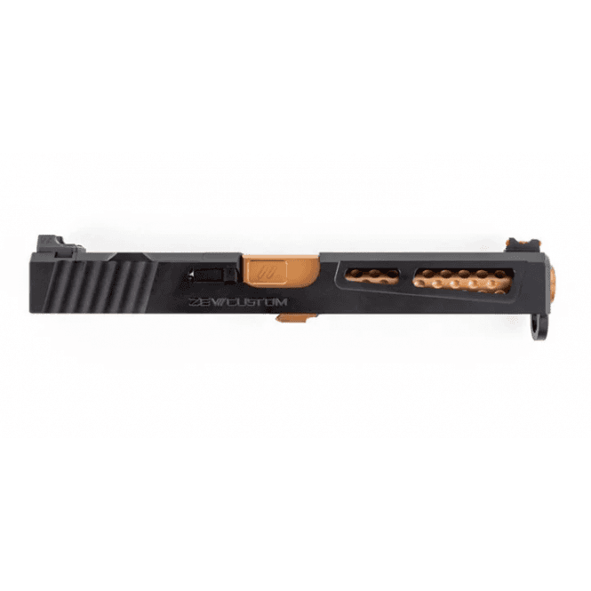 PTS Syndicate Airsoft ZEV G17 Prizefighter Slide Kit for Leupold DP-PRO