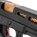 PTS Syndicate Airsoft ZEV G17 Prizefighter Slide Kit for Trijicon RMR