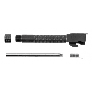 ZEV G17 Threaded Outer Barrel, Inner Barrel & Thread Cover - Black